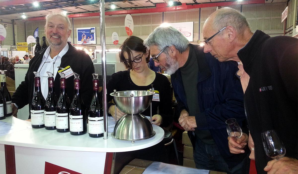 Pommard d gustation de nos vins portes ouvertes et salons - Salon des vignerons independants lille ...